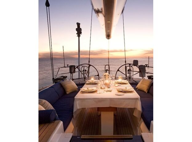 Sailing Yacht for a Romantic Dinner Cyprus