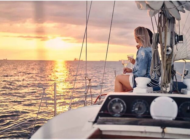 Sailing Yacht for a Romantic Dinner Limassol