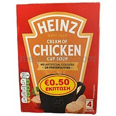Heinz cream of chicken soup 68g (4x17g)