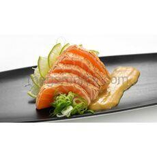 Salmon tataki sashimi 3 pcs.