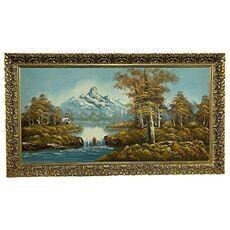 Painting Mountain Lake