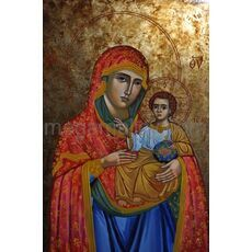 icon Mother God Jerusalem