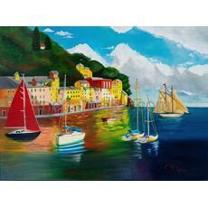 Painting Portofino