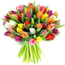 bouquet-tulips