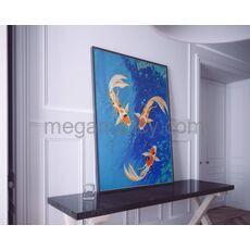 Рыбки Кои картина