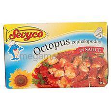 Octopus in sauce tomato