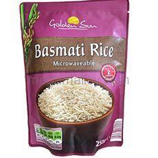 Golden Sun Basmati Rice Microwaveable  250g