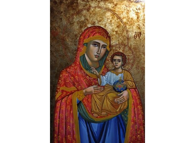 icon Mother God Jerusalem
